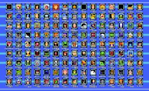 Pixel Dailies Boss Select